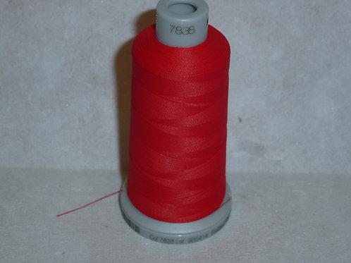7838 rot Frosted Matt Stickgarn für die Stickmaschine von Madeira