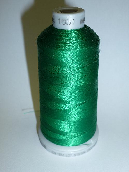 1651 grün Polyneon Stickgarn für die Stickmaschine