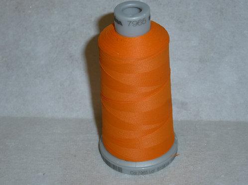 7965 orange Frosted Matt Stickgarn für die Stickmaschine von Madeira