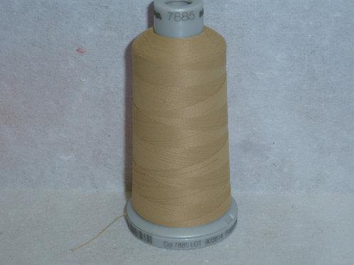 7885 milchkaffee Frosted Matt Stickgarn für die Stickmaschine von Madeira