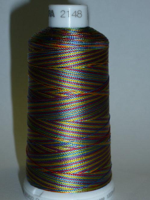 2148 Madeira Viscose Verlaufsgarn Multicolor Stickgarn für die Stickma