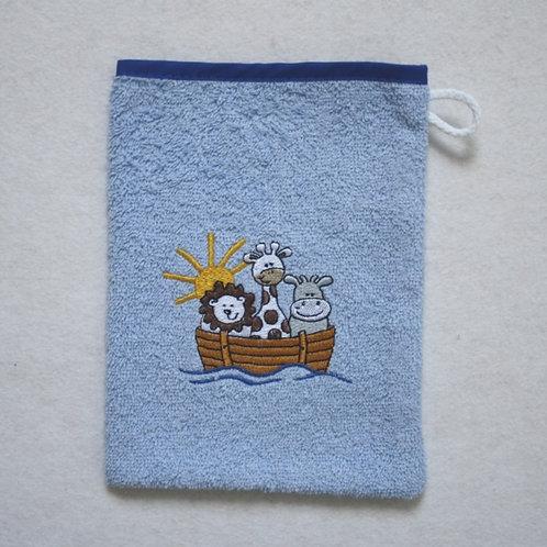 Waschlappen Waschhandschuh Arche