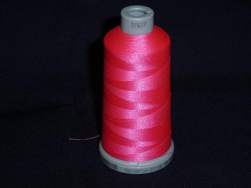 1597 neonpink Polyneon Stickgarn für die Stickmaschine