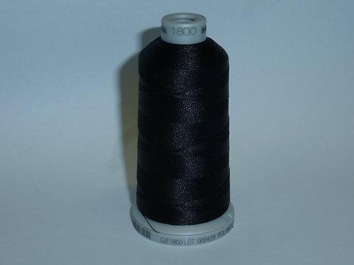 1800 schwarz Polyneon Stickgarn für die Stickmaschine