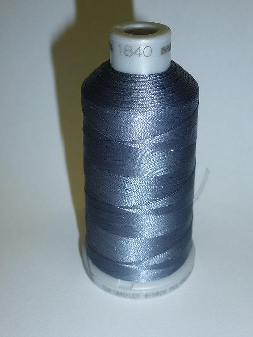 1840 grau Polyneon Stickgarn für die Stickmaschine