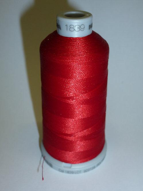 1839 rot Polyneon Stickgarn für die Stickmaschine