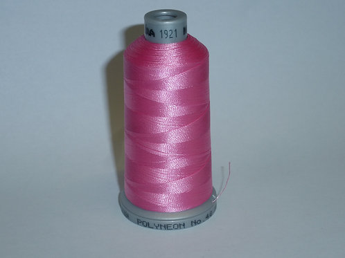 1921 rosa Polyneon Stickgarn für die Stickmaschine