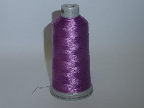 1712 pastellviolett Polyneon Stickgarn für die Stickmaschine