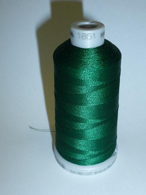 1851 dunkelgrün Polyneon Stickgarn für die Stickmaschine