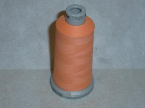 7125 orange-apricot Frosted Matt Stickgarn für die Stickmaschine von Madeira
