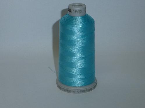 1892 eisblau Polyneon Stickgarn für die Stickmaschine