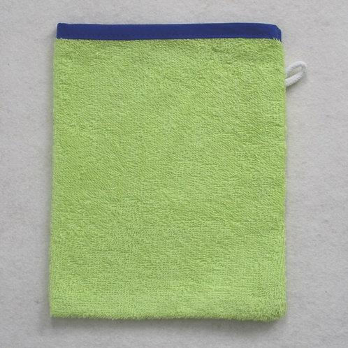 Waschlappen Waschhandschuh hellgrün