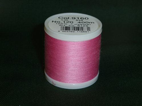 9160 rosa Aerofil 120 Nähgarn Quiltgarn Garn für die Nähmaschine