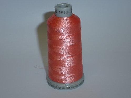 1819 rosa-koralle Polyneon Stickgarn für die Stickmaschine