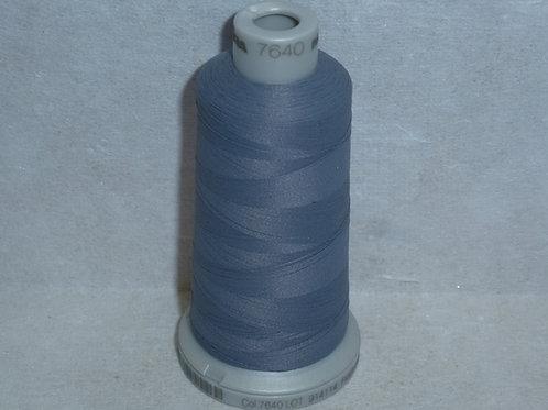 7640 grau Frosted Matt Stickgarn für die Stickmaschine von Madeira
