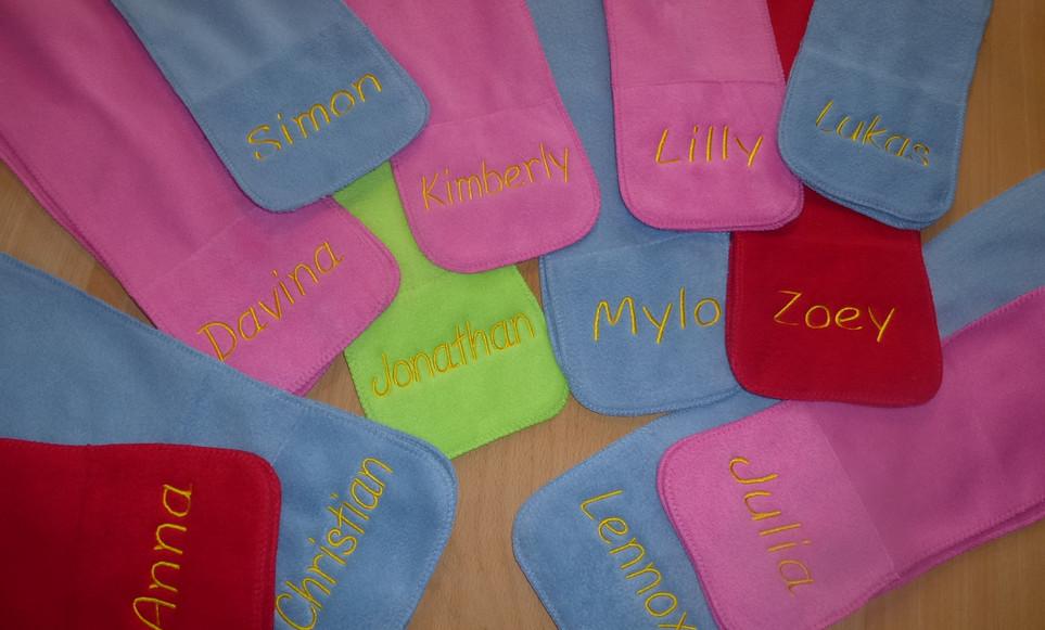 Schals für Kindergruppen