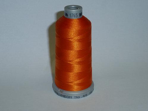 1765 mandarine Polyneon Stickgarn für die Stickmaschine