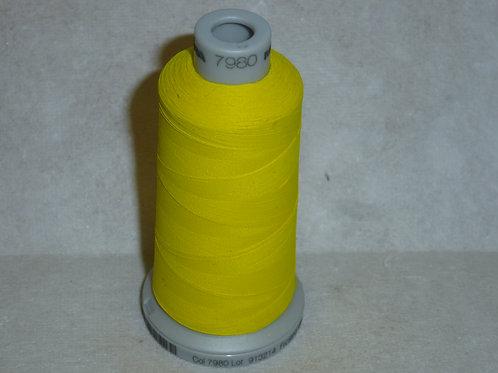 7980 gelb Frosted Matt Stickgarn für die Stickmaschine von Madeira