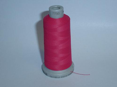 7786 pink-rot Frosted Matt Stickgarn für die Stickmaschine von Madeira
