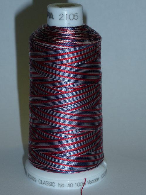 2006 Madeira Viscose Verlaufsgarn Multicolor Stickgarn für die Stickmaschine 1