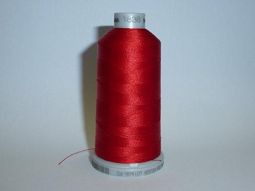 1838 rot Polyneon Stickgarn für die Stickmaschine