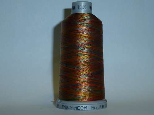 1600 Madeira Verlaufsgarn Multicolor Stickgarn für die Stickmaschine 1000 m Kone