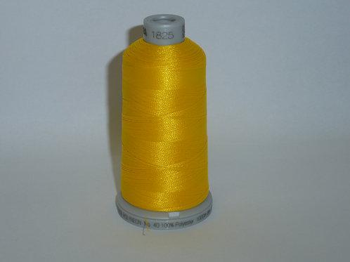 1825 gelb Polyneon Stickgarn für die Stickmaschine