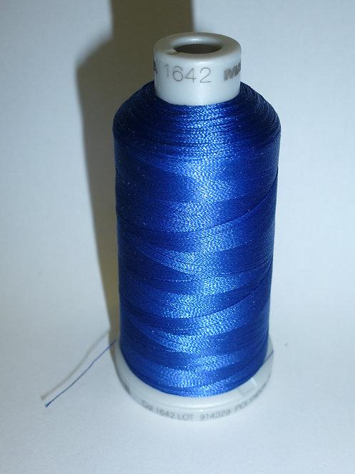 1642 blau Polyneon Stickgarn für die Stickmaschine