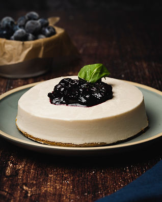 Vegan plant based cheese cake