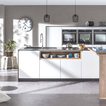 Une cuisine laquée blanche, une idée lumineuse !