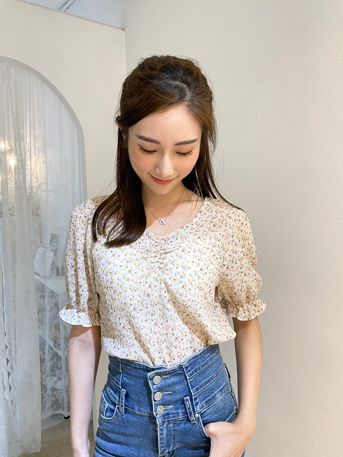 T1903 [2色] Floral Summer Top