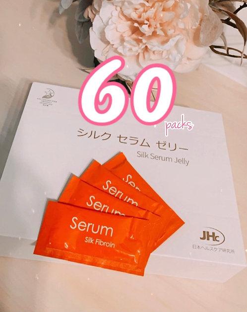[60 packs] ✨Silk Serum Jelly蛋白蠶絲精華果凍