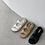 Thumbnail: S3014 [3色] 貼貼帶厚底涼鞋