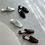 Thumbnail: S3018 [3色] 編織圖案PU平底拖鞋