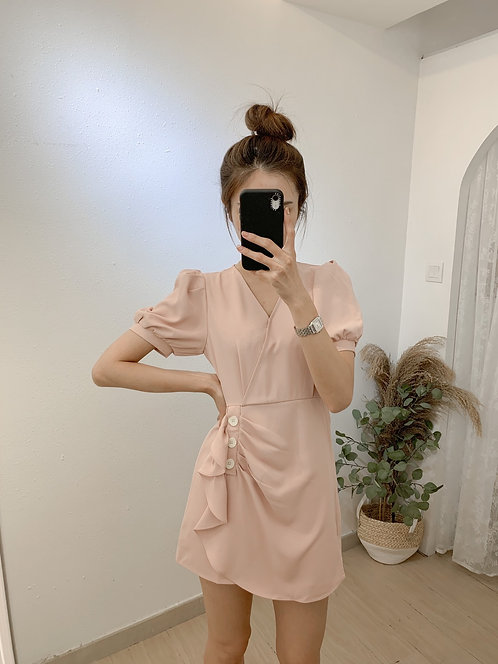 D2016 [2色] 小個子連身裙