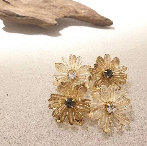 [2色] Windflower 耳環 acc1326
