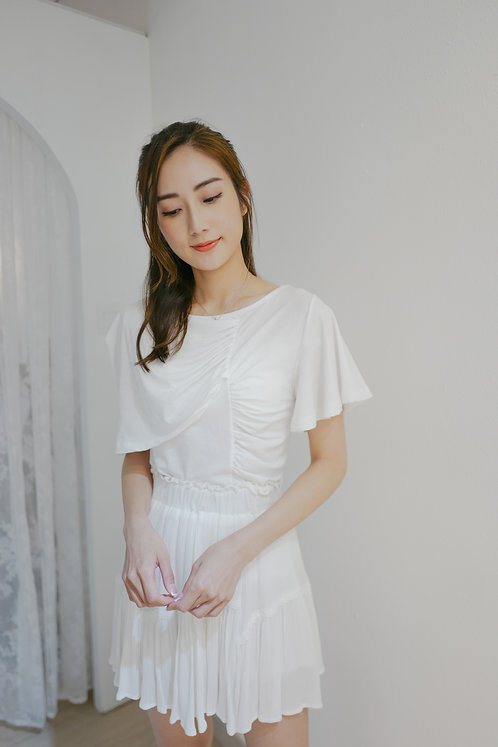 T1904 [2色] Odette Layering Cotton Tee
