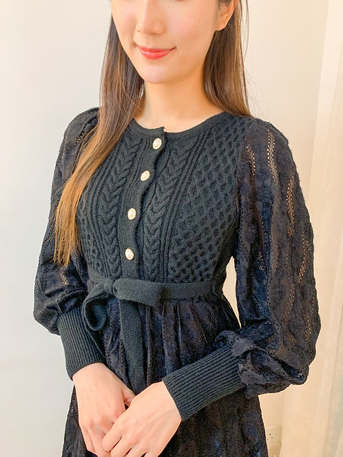 [2色] Bella bell sleeves OPS D1657