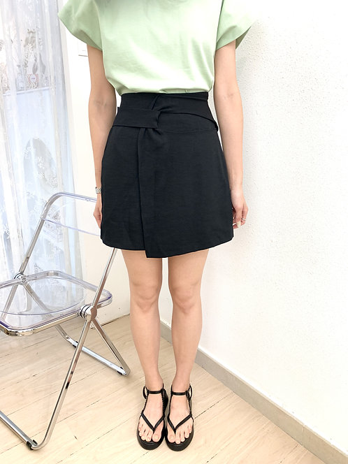 D2106 [3色] Knot Layerling Skirt