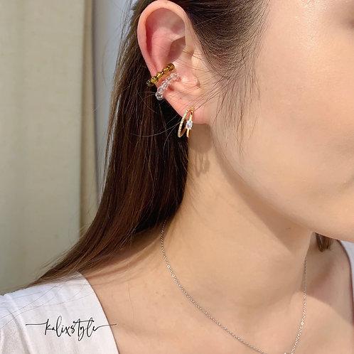 [4SET] 彩珠 耳骨夾  [包本地平郵]