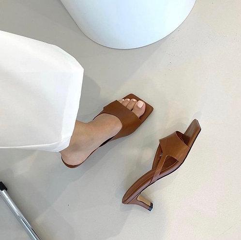 S3019 [3色] 鏤空淺咀高跟鞋
