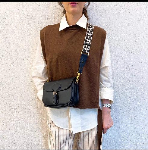[3色] Bag1421 Classic Leather Bag