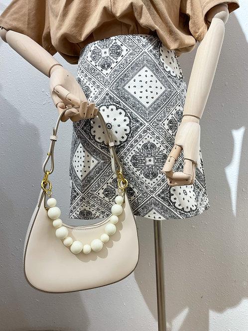 Bag3034 Moon Leather Bag (附有3條手挽帶)