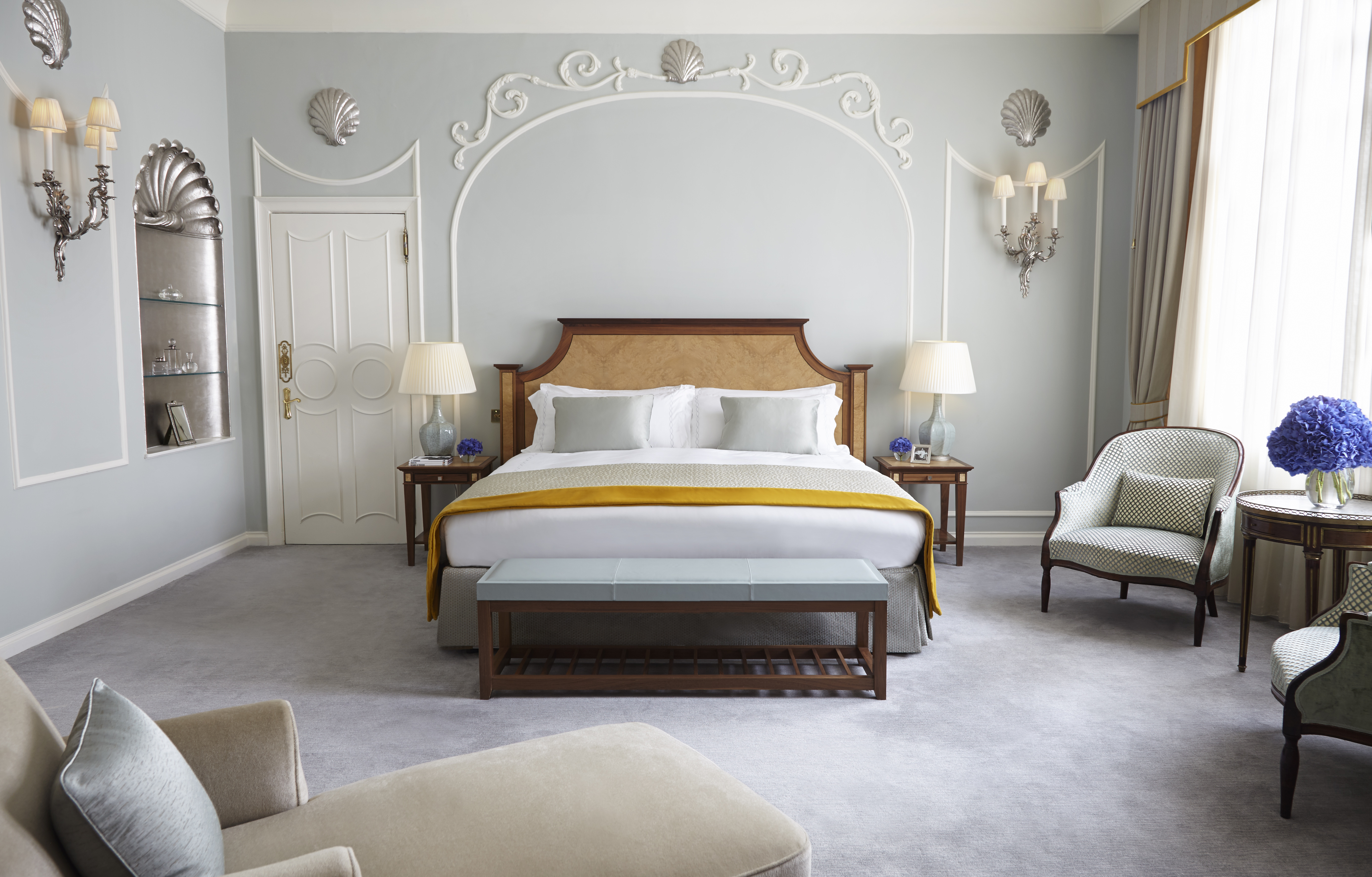 Claridges Royal Suite Bedroom