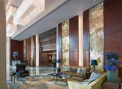Welcome Lobby - Shangri-La Hotel, At The Shard, London