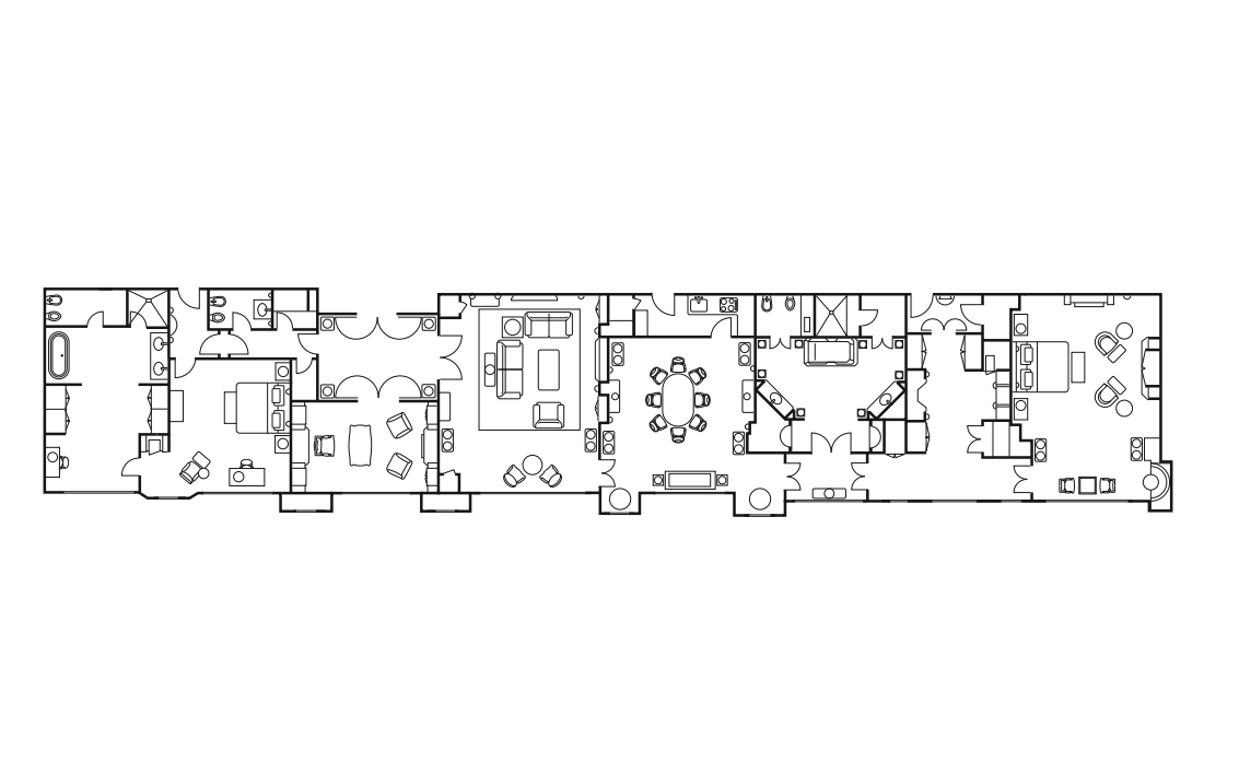 Savoy Royal Suite Floorplan