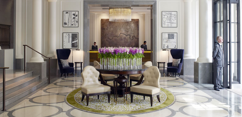 The Corinthia Hotel Lobby