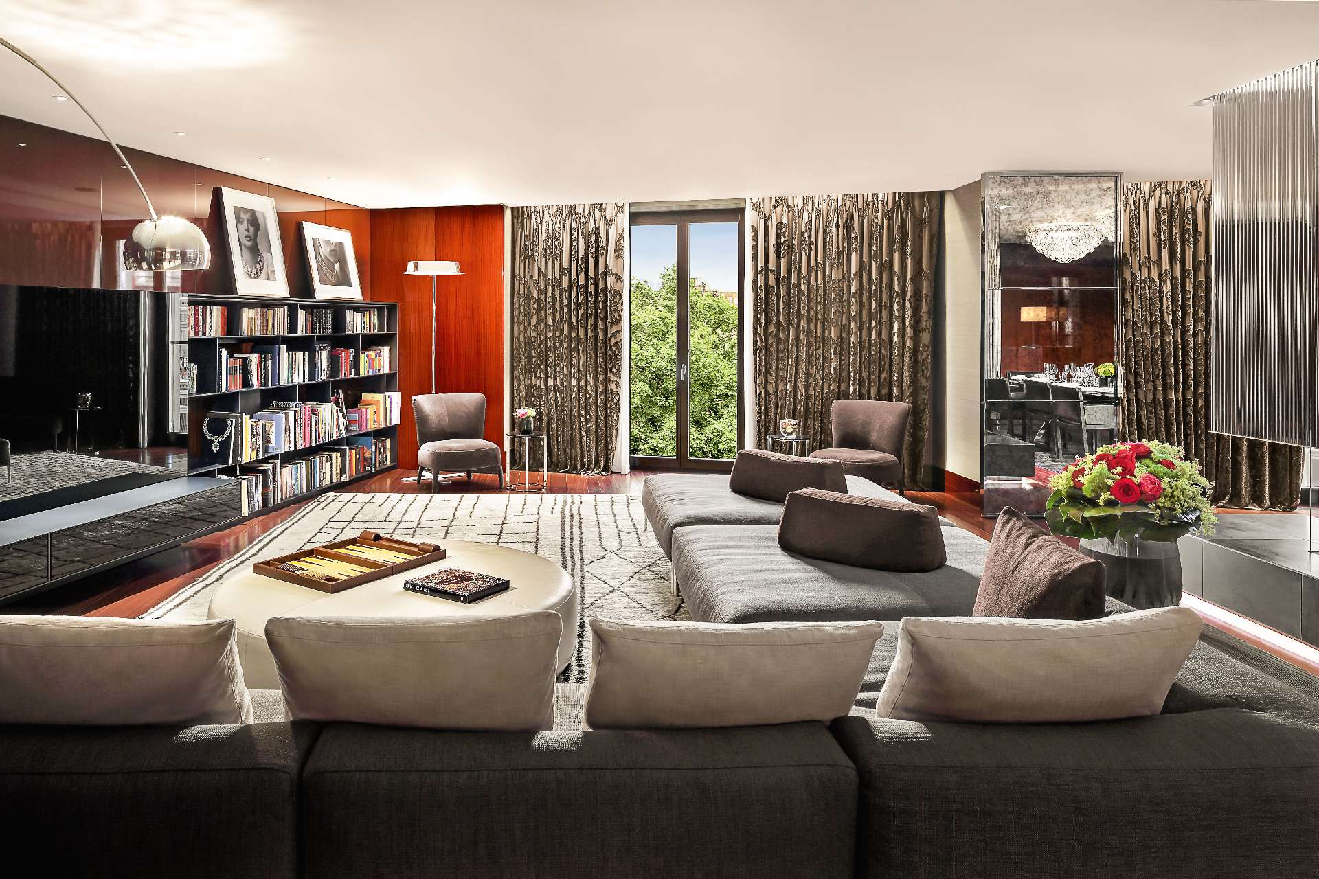 Bulgari Suite London Lounge