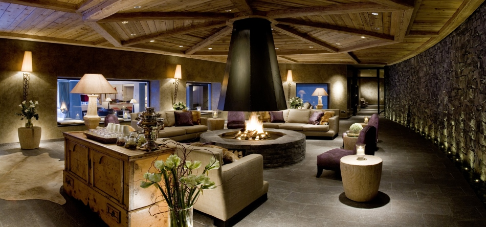 Gstaad Palace Hotel Spa Lounge