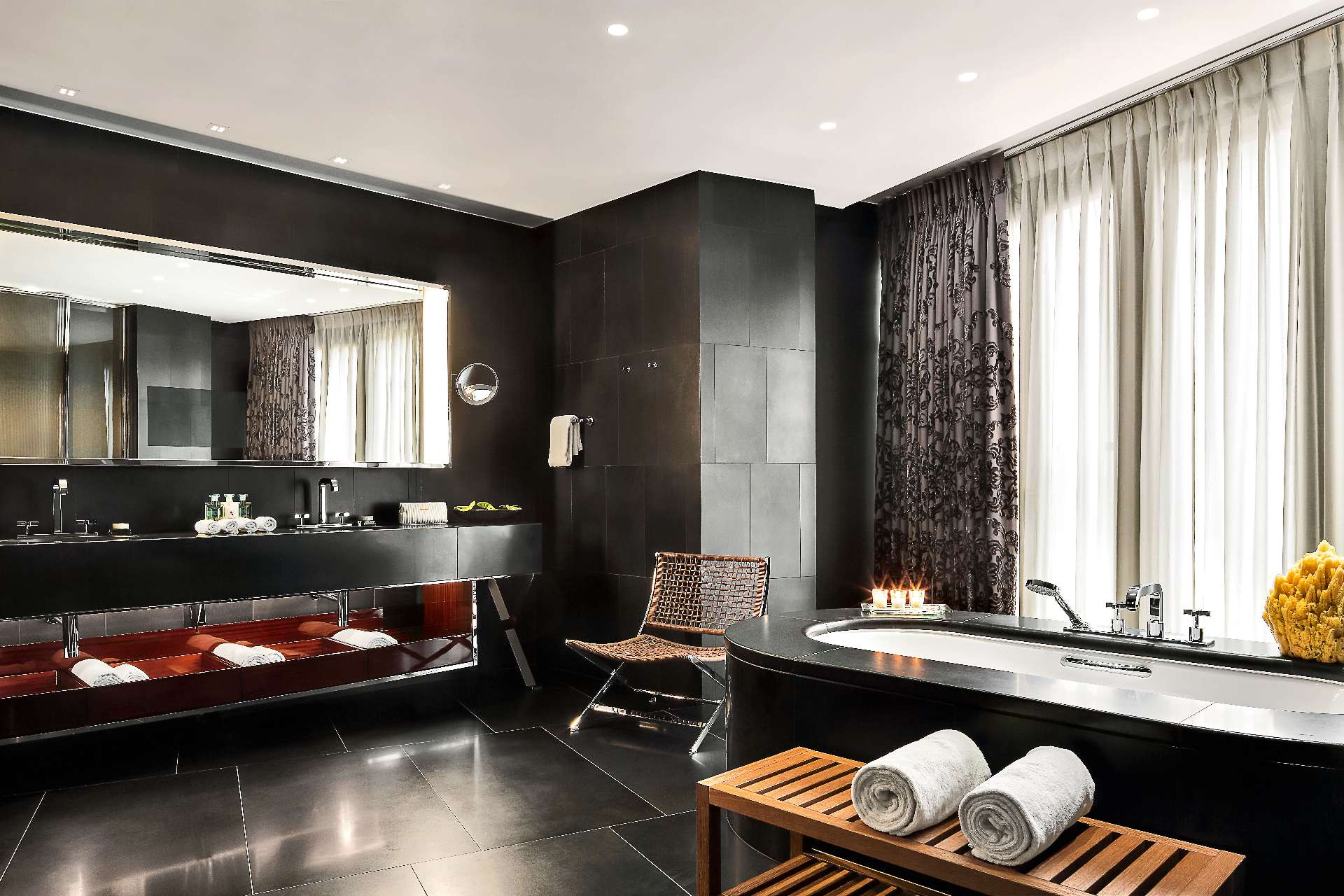 Bulgari Suite London Bathroom